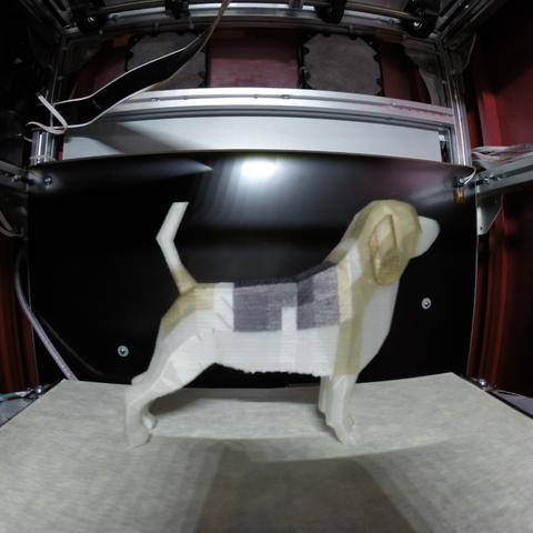 Capture d'écran 2018-01-02 à 11.51.30.png Download free OBJ file Beagle - Low Poly • 3D printable model, O3D
