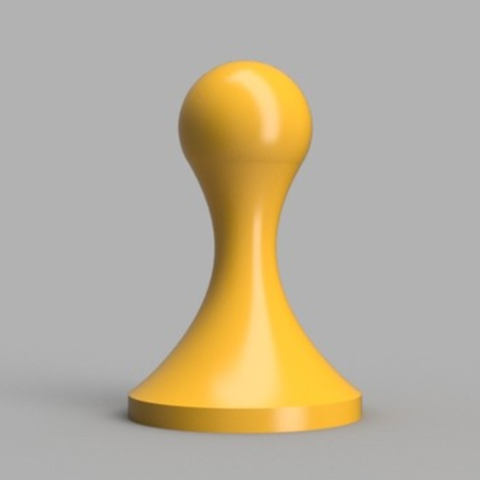Download free 3D printer designs Simple Espresso Tamper, O3D