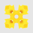 Download free 3D printing templates Cubic Lattice, O3D