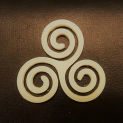 Download free 3D print files Triskelion (Triskele), O3D