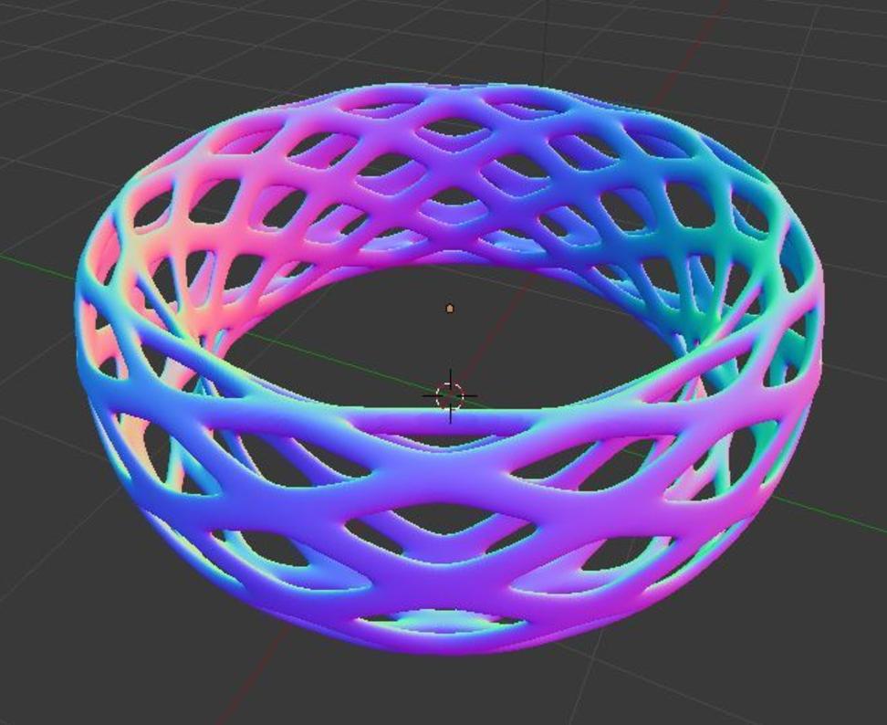 Capture d'écran 2017-09-21 à 15.06.25.png Télécharger fichier STL gratuit Bracelet Voronoi - Large • Design imprimable en 3D, O3D
