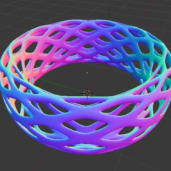 Free 3D printer file Voronoi Bracelet - Large, O3D