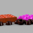 Download free 3D printing files Chocolate Mold, O3D
