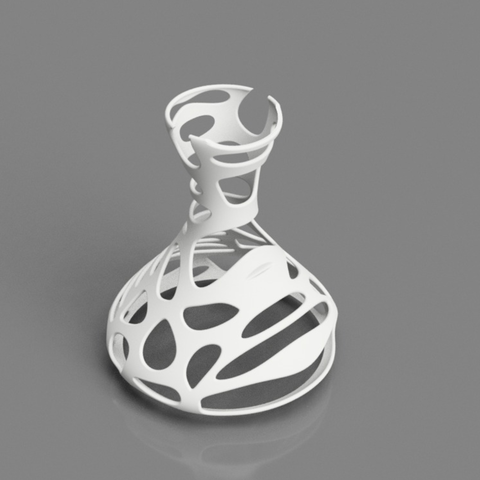 Download free STL files Voronoi Vase, O3D