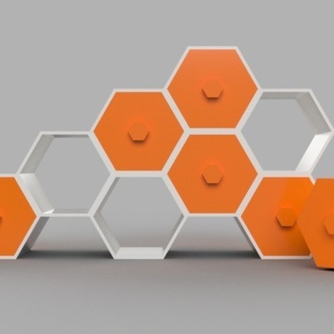 8dacfad974d742d6eb4540c400711ddb_preview_featured.jpg Download free STL file Modular Hex Drawers • Design to 3D print, O3D