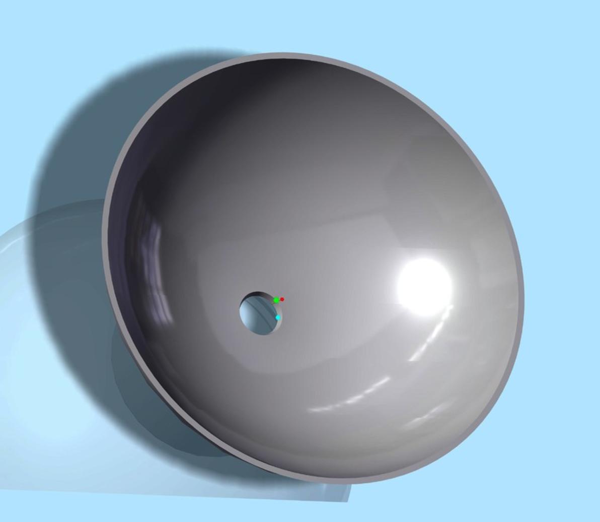 Capture d'écran 2017-09-21 à 14.43.20.png Download free STL file Bottle Cap Funnel • Template to 3D print, O3D