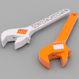 Free 3d printer model Crescent Wrench Pair, O3D
