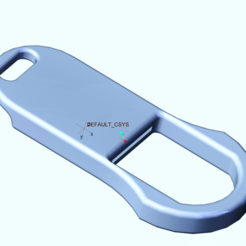 Download free STL file Penny Bottle Opener Keychain, O3D