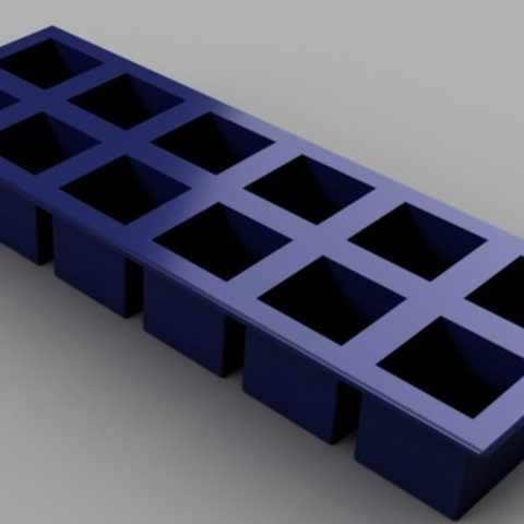 Download free 3D printer files The Perfect Ice Cube Tray, O3D