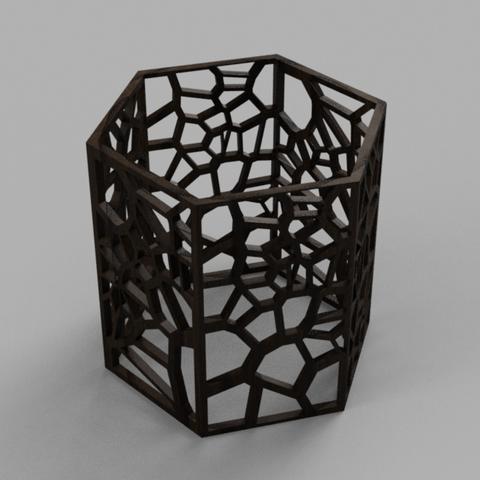 Capture d'écran 2017-09-21 à 15.08.41.png Download free STL file Modular Wine Rack • 3D printer object, O3D