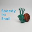 Free 3D printer model Speedy the Snail, O3D