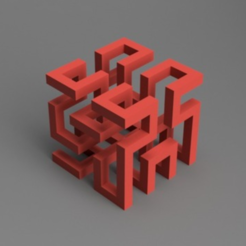 Download free 3D printer designs Hilbert Cube, O3D