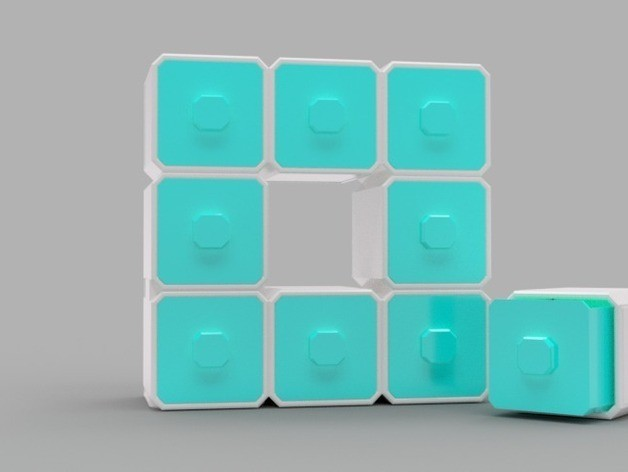 4423f6a2d7beb5f951eb797d9ee42eb9_preview_featured.jpg Download free STL file Modular Drawers • Model to 3D print, O3D