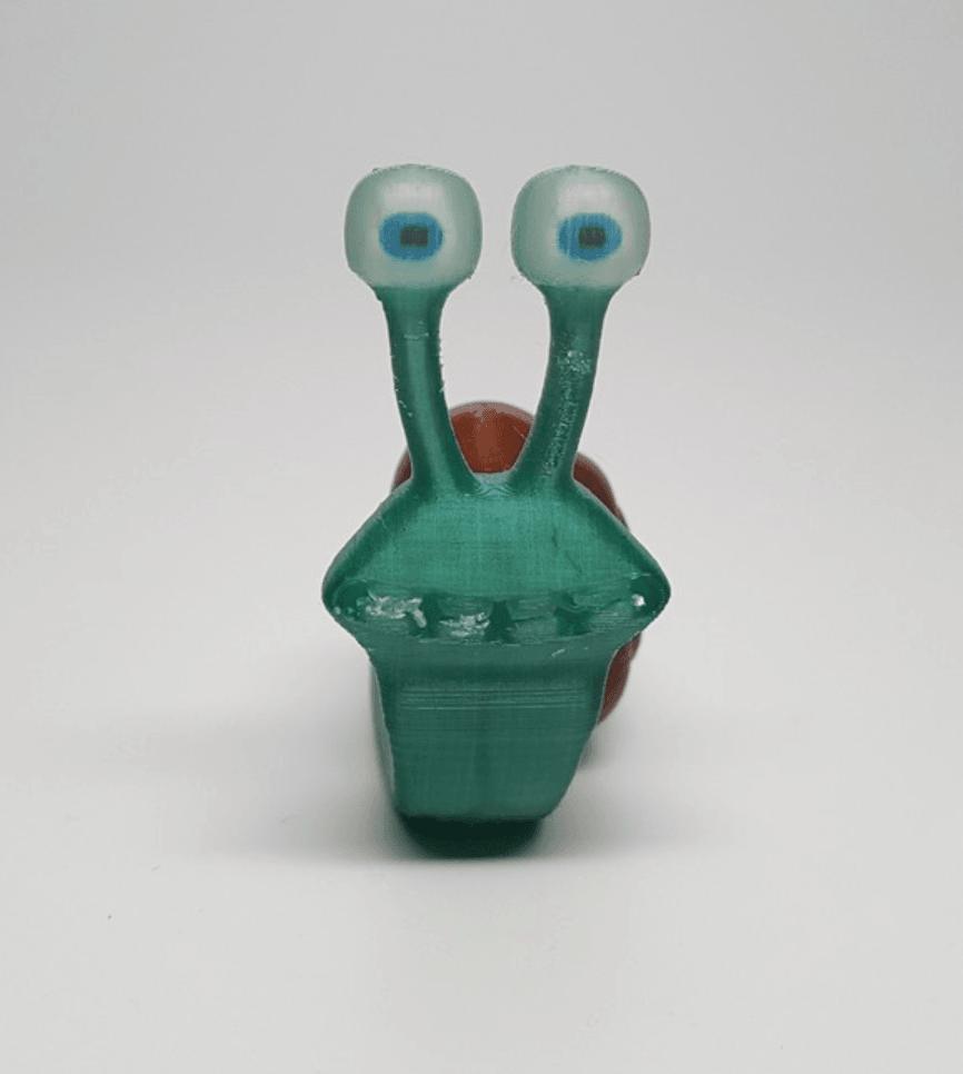 Capture d'écran 2018-04-13 à 14.03.33.png Download free OBJ file Speedy the Snail • 3D printer design, O3D