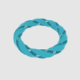 Free STL files Twisted Torus Bracelet, O3D