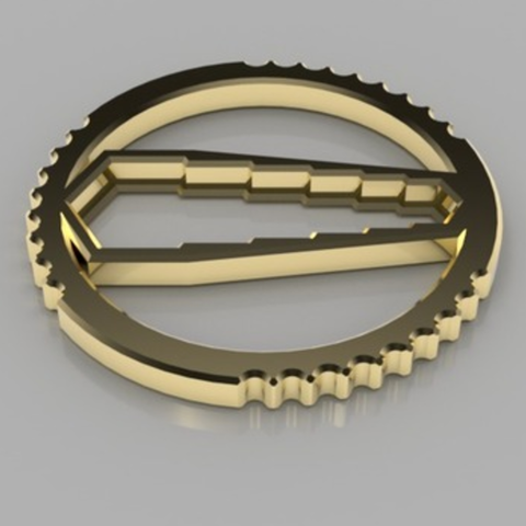 Capture d'écran 2017-09-21 à 18.01.35.png Download free STL file Hex Wrench Keychain • Model to 3D print, O3D