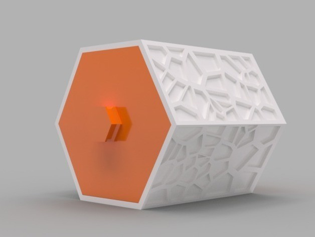 03d4337ec75f400f65d70dc3dcd86ce6_preview_featured.jpg Download free STL file Modular Hex Drawers • Design to 3D print, O3D