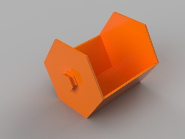 6d77c775c78b5b86d0046502b20f4267_preview_featured.jpg Download free STL file Modular Hex Drawers • Design to 3D print, O3D