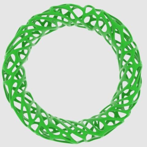 Capture d'écran 2017-09-21 à 16.38.50.png Télécharger fichier STL gratuit Voronoi Bracelet 2 • Modèle pour impression 3D, O3D