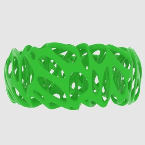 Capture d'écran 2017-09-21 à 16.38.45.png Télécharger fichier STL gratuit Voronoi Bracelet 2 • Modèle pour impression 3D, O3D