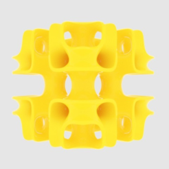 Free 3D printer files Cubic Lattice, O3D