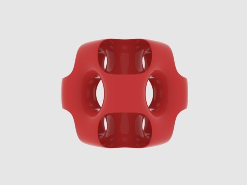 Capture d'écran 2017-09-21 à 15.43.56.png Download free STL file Ported Cube • 3D printing object, O3D