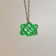 Capture d'écran 2017-09-21 à 19.05.45.png Download STL file Celtic Love Knot Pendant • Model to 3D print, O3D