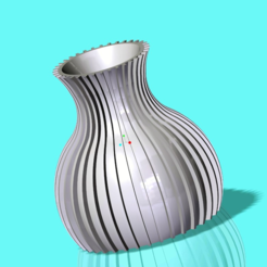 Download free 3D printer designs Vase, O3D