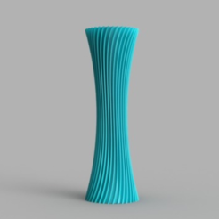 Download STL file Spiral Vase • 3D print template, O3D