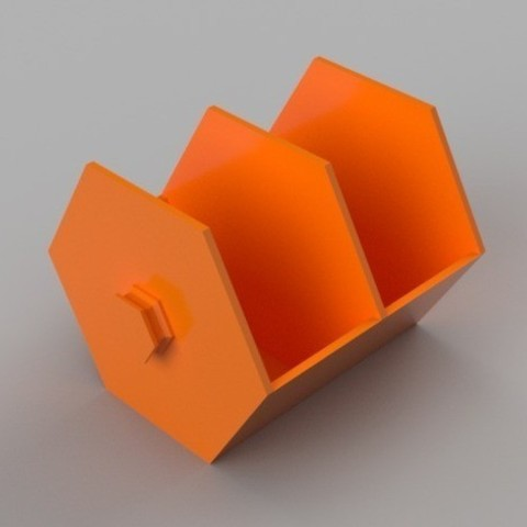 ac0a6664e469c16247c691195921db1d_preview_featured.jpg Download free STL file Modular Hex Drawers • Design to 3D print, O3D