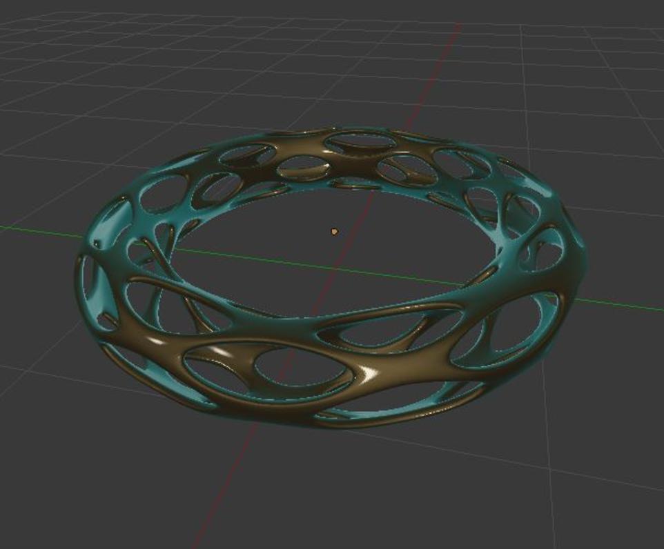 Capture d'écran 2017-09-21 à 15.05.08.png Télécharger fichier STL gratuit Bracelet Voronoi • Objet imprimable en 3D, O3D