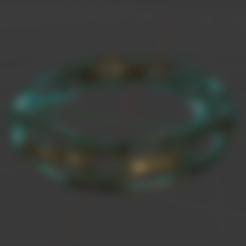 bracelet-voronoi-final.stl Télécharger fichier STL gratuit Bracelet Voronoi • Objet imprimable en 3D, O3D