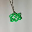 Capture d'écran 2017-09-21 à 19.05.57.png Download STL file Celtic Love Knot Pendant • Model to 3D print, O3D