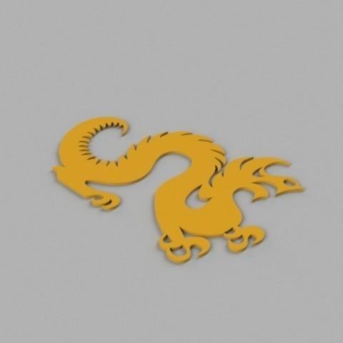 e5efc91a78e60d83200b84e80de4ec8c_preview_featured.jpg Télécharger fichier STL gratuit Drexel Dragon Cookie Cutter • Modèle pour impression 3D, O3D
