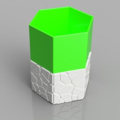 Capture d'écran 2017-09-21 à 17.56.33.png Download STL file Self-Watering Planter 2 • 3D printing template, O3D