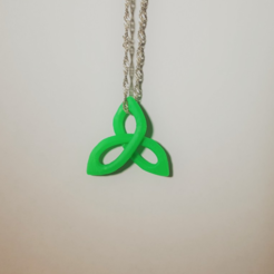 Download free 3D printing designs Triquetra Pendant, O3D