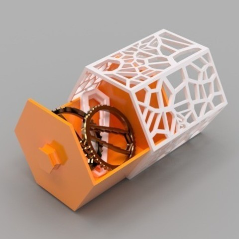 5e4b1197ec752318166e14bfbcbc28ee_preview_featured.jpg Download free STL file Modular Hex Drawers • Design to 3D print, O3D
