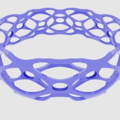 Free 3d printer model Subdivision Bangle Bracelet, O3D