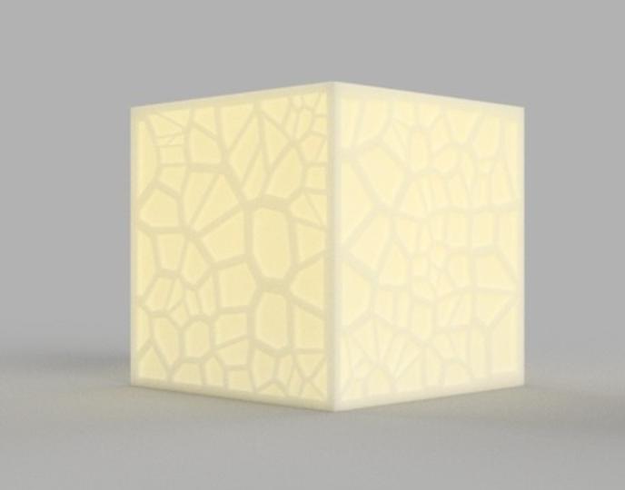 Capture d'écran 2017-09-21 à 15.35.27.png Download free STL file Voronoi Tea Light Shade • 3D print object, O3D