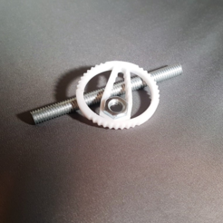Free Hex Wrench Keychain 3D printer file, O3D