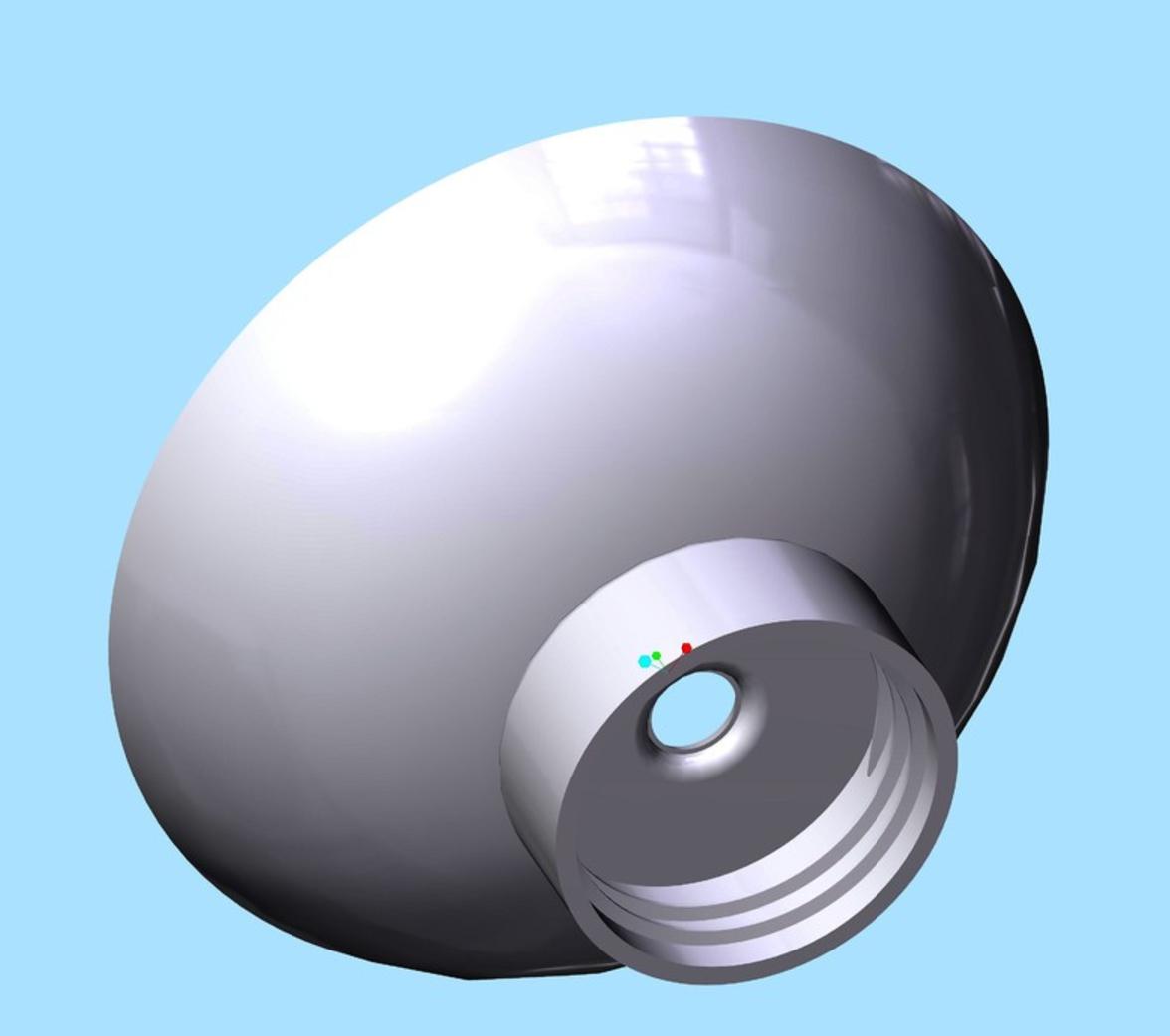 Capture d'écran 2017-09-21 à 14.43.09.png Download free STL file Bottle Cap Funnel • Template to 3D print, O3D