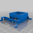RPiFanMount.png Download free STL file Cooling Fan Mount for Raspberry Pi 3 and 4 • 3D print object, Tipam