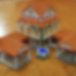 AOE2_towncentre1_v2.obj Download free OBJ file AOE 2 DE Town Centre 1 v2 • 3D printing model, Tipam