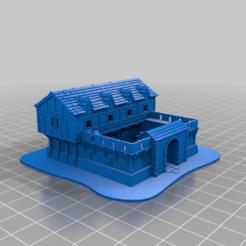 Barracks.png Télécharger fichier OBJ gratuit Caserne AOE 2 DE • Modèle pour imprimante 3D, Tipam
