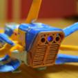 Télécharger plan imprimante 3D gatuit Le vaisseau de No Man's Sky avec des lumières, Tipam