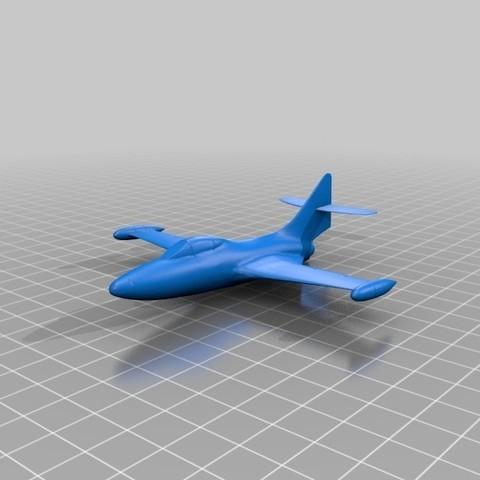 Imprimir en 3D gratis Avión, reahax