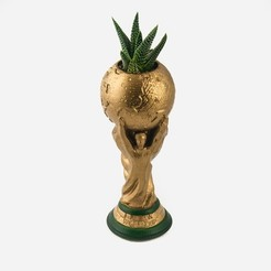 Free 3D printer files Fifa World Cup Planter, reahax