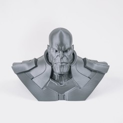 Download free STL files Thanos Bust, reahax
