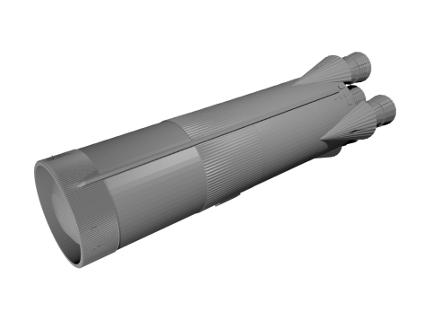 S-1_428x321.png Download free STL file Saturn V Rocket - Stage 1 • 3D printable template, spac3D