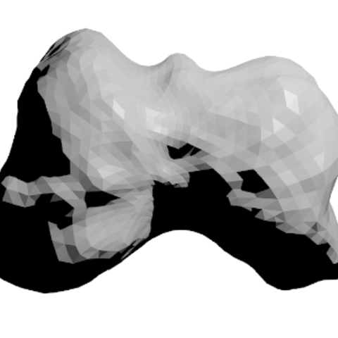 Free Mithra Asteroid 3D printer file, spac3D